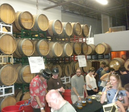 Inside the Barrel Room